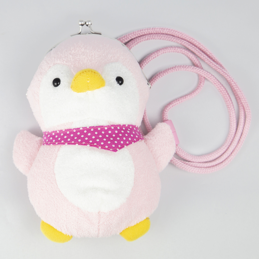 マリンシリーズ コインパースシリーズ ペンギン(ピンク)